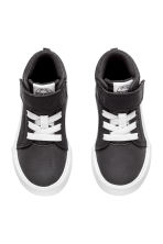 Cotton twill trainers - Black -  | H&M CN 2